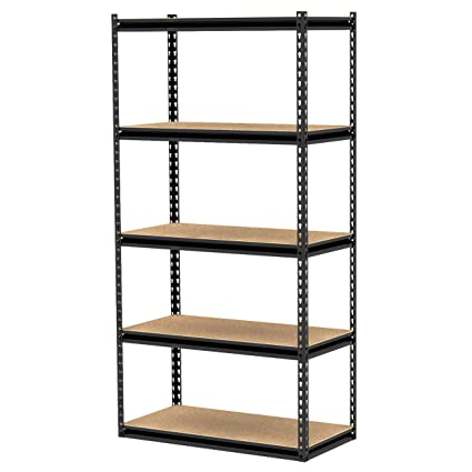 gorilla rack grz6 3618 5bpcb 36 by 18 by 72 inch shelving unit with rh amazon com gorilla rack shelving gorilla rack shelving costco