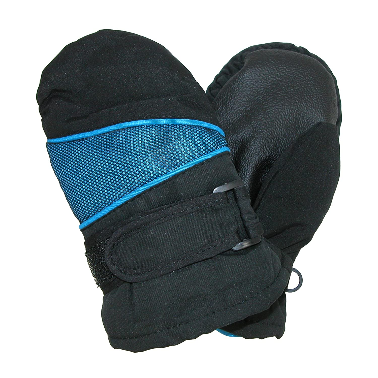 CTM Toddlers Waterproof Winter Mittens Navy GS-TM327-NAV