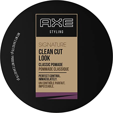 Axe Signature Clean-Cut Look Pomade 2.64 oz Pack Of 9