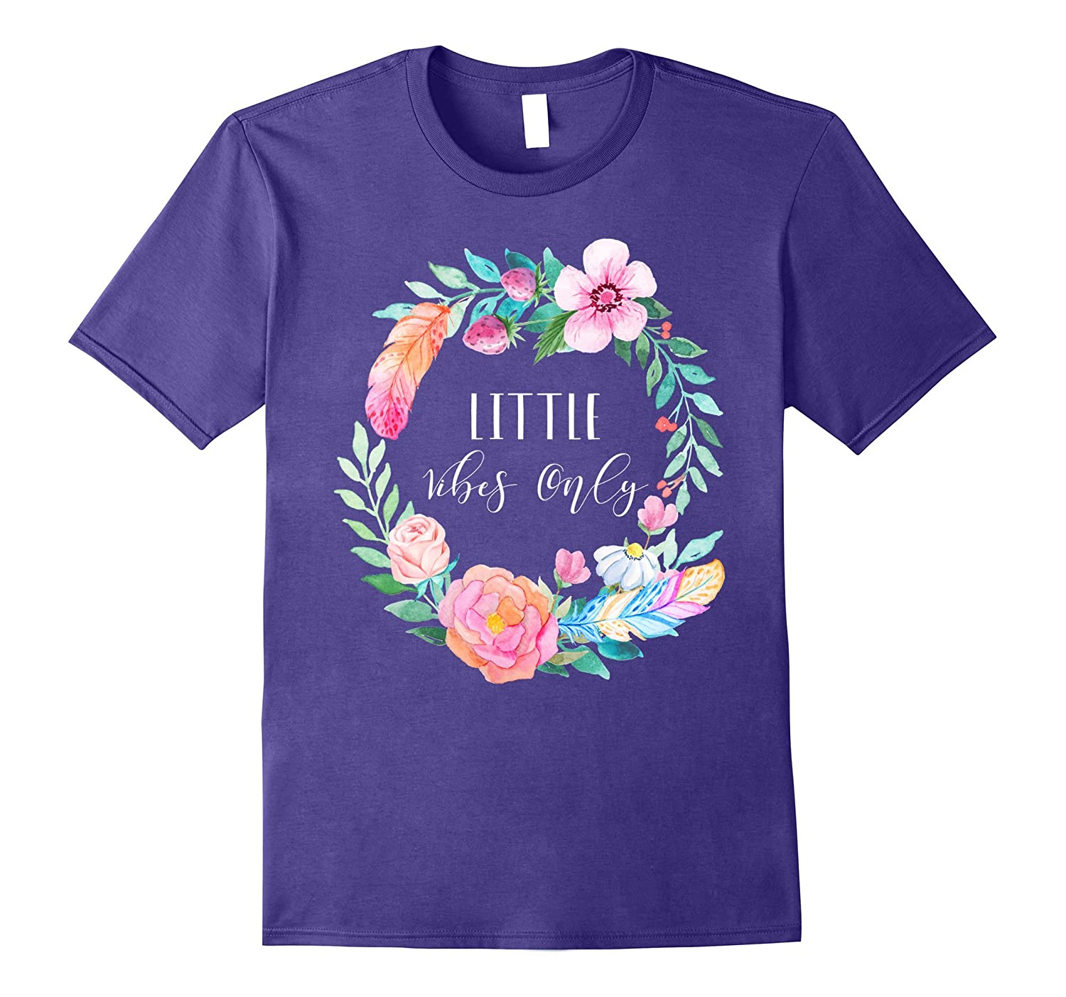 Sorority Little Vibes Only Floral Greek Reveal Initiation-FL
