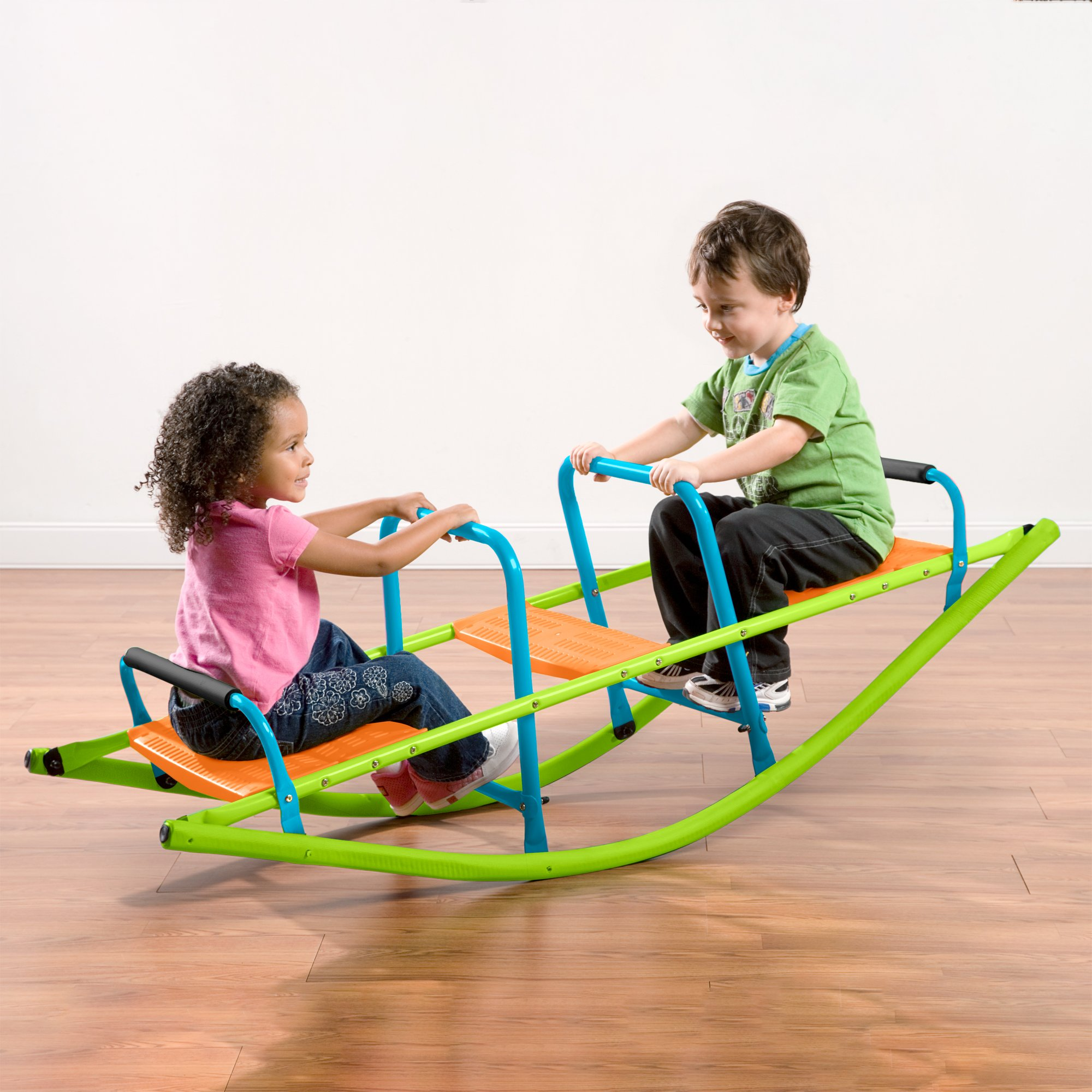Pure Fun Rocker Kids Seesaw Indoor Or Outdoor Ages 3 To