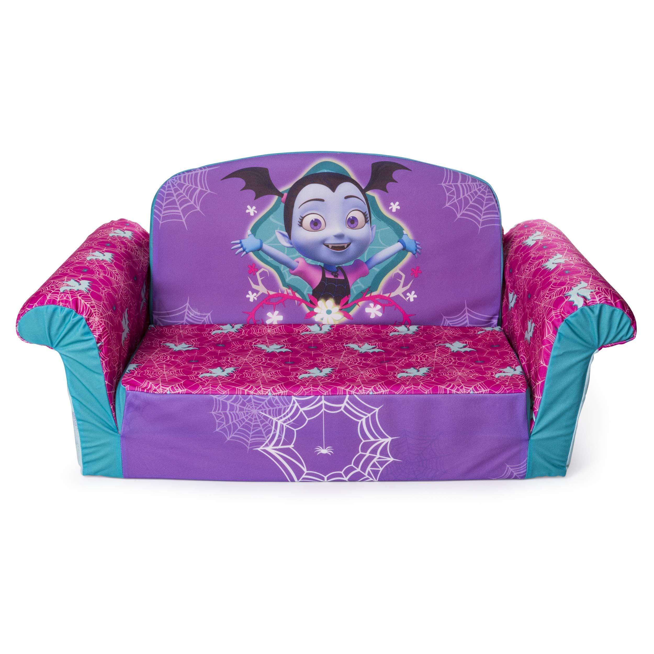 Marshmallow Furniture, Children's 2 in 1 Flip Open Foam Sofa, Disney's Vampirina, by Spin Master by Marshmallow Furniture