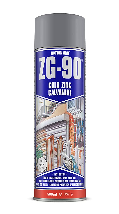 ZG-90 Cold Zinc Galvanising Spray 500ml