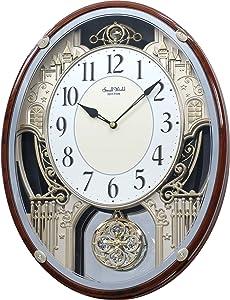 """Rhythm Clocks """"Chateau"""" Musical Motion Clock"""