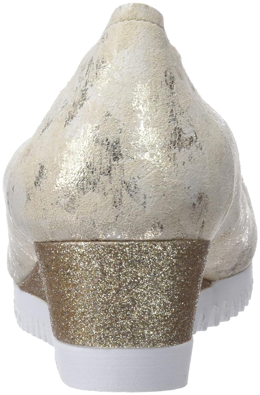 Sabrinas Damen Montreal Ballerinas Geschlossene Ballerinas Montreal Silber (Platino) 7c1847