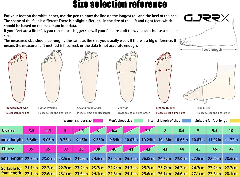 GJRRX Chaussures de Course Running Compétition Sport Trail Entraînement Homme Basket 39-44 6255 Noir