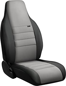 FIA NP99-20 Black with Gray Cover NP99-20 GRAY Front Bucket Seats//Neoprene Center Panel