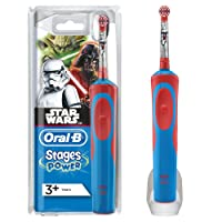 Oral-B Stages Power Kids - Cepillo de dientes eléctrico, diseño Star Wars