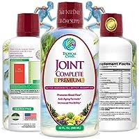Joint Complete Premium- Liquid Joint Supplement w/Glucosamine, Chondroitin, MSM,...