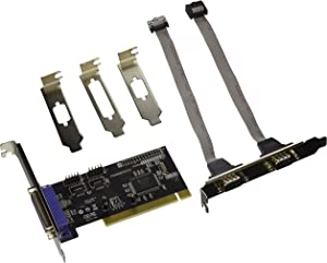 Rosewill 2X Serial and 1X Parallel Port PCI Card RC-303