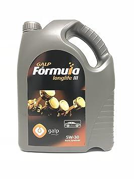 Aceite motor 5w30 GALP FORMULA LONGLIFE III 5 litros