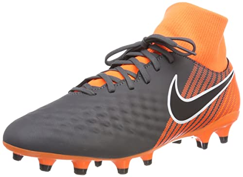 2ac99404bbc3 NIKE Men's Obra 2 Academy Df Fg Football Boots, Multicolour (Dark Grey/Total