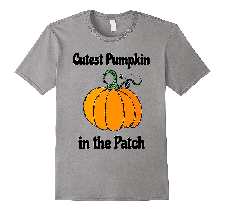 Cutest Pumpkin in the Patch Halloween T-Shrt-T-Shirt