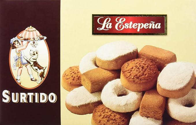 La Estepeña Mantecados Surtidos - 650 g: Amazon.es: Amazon ...