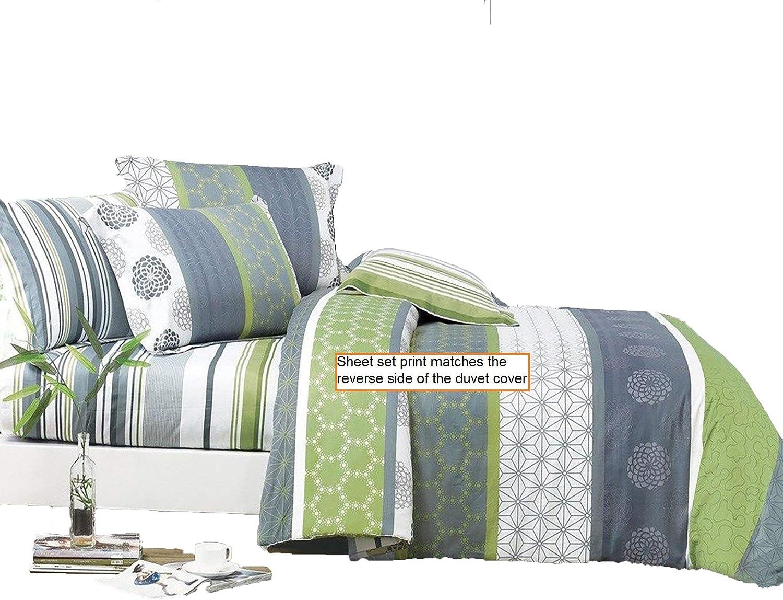 100/% Egyptian Cotton Grey Flat Sheet Super King Size 200TC Flat Bed Sheets King