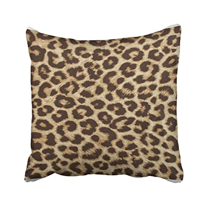Amazon Shorping Zippered Pillow Covers Pillowcases 40X40 Inch Cool Leopard Print Pillows Decorative