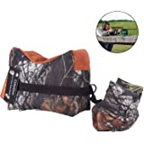 CyberDyer Camouflage Portable Shooting Sand Front Rear Rifle Target Rest Bag Bench Unfilled Stand Sandbags For Hunter Shooter