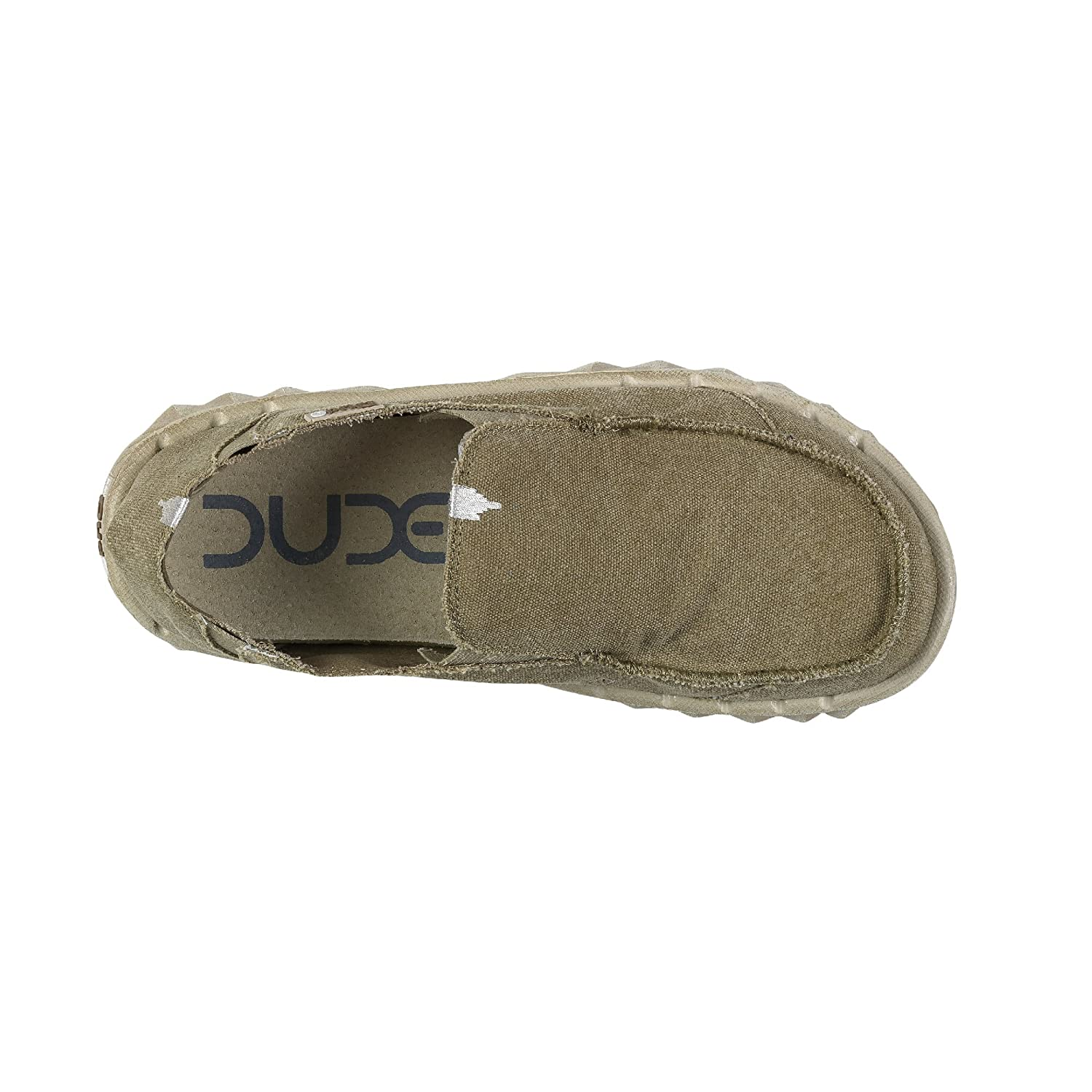 Hey Dude  Canvas  Herren Farty Canvas  Schuhes Kastanie 74cd2b