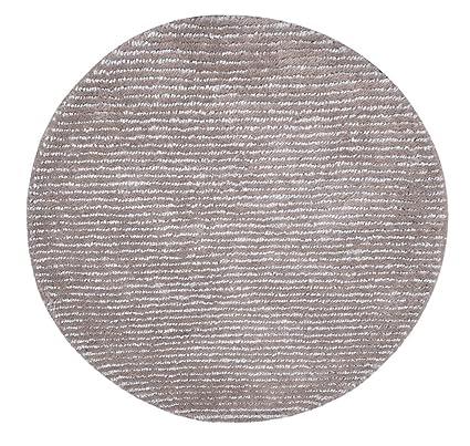 The Rug Barn Hand Made Steel Wool Modeno Round Rug (2` 29