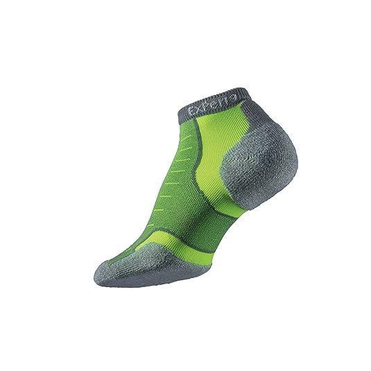 Thorlos Mens /& Womens 1 Pair Experia By Cushioned Running Micro Mini Crew Socks 11-12 Royal Blue