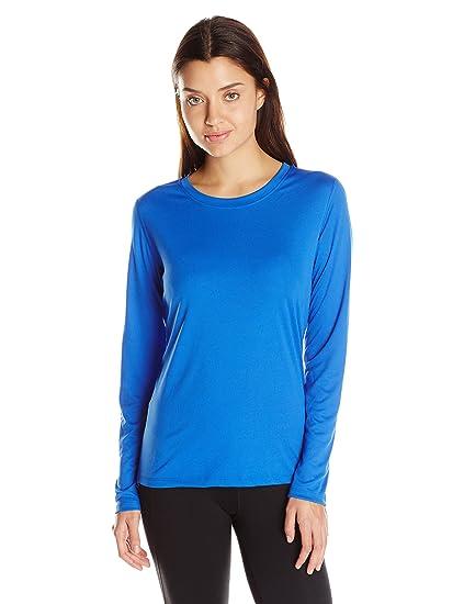 4c051fadeff4e5 Hanes Sport Women's Cool DRI Performance Long Sleeve Tee at Amazon Women's  Clothing store: