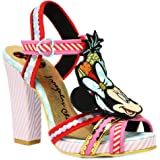 Irregular Choice X Disney Women's Tropical Minnie Mouse Strappy Platform Sandals Limited Edition