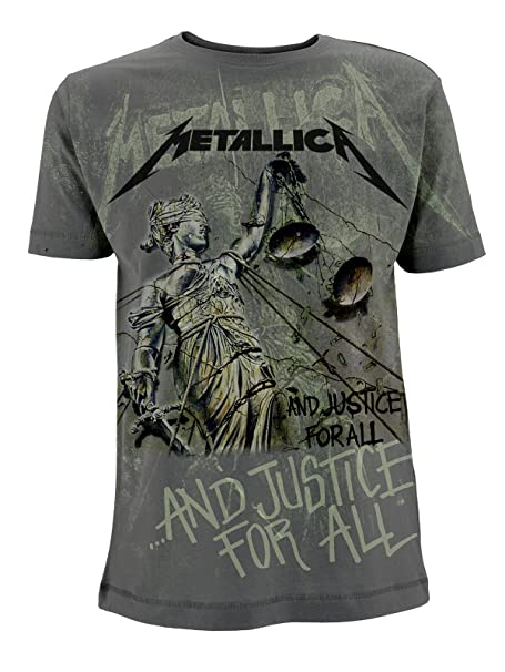 003d58ab8 Metallica And Justice For All James Hetfield Official Tee T-Shirt Mens  Unisex (Small