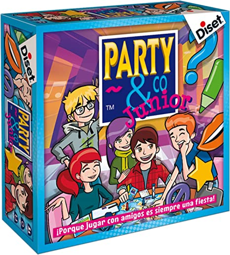 Diset- Juego Party & co Junior, 8+ (10103): Amazon.es: Juguetes y ...