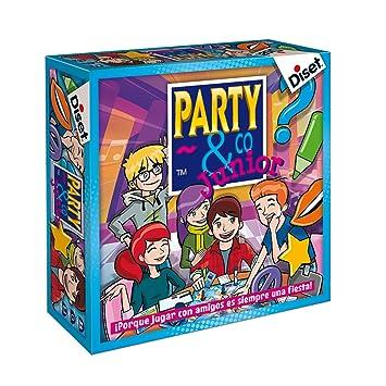 Diset Juego Party Co Junior 8 10103 Amazon Es Juguetes Y Juegos