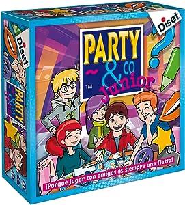 Diset - Juego Party & co Junior (10103): Amazon.es: Juguetes y juegos