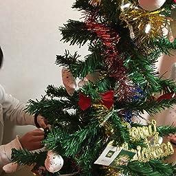 Amazon Co Jp Yacone クリスマスツリー 150cm 卓上 ミニ ツリー90cm 電飾つき セット かわいい クリスマスグッズ インテリア 用品 クリスマスプレゼントに最適 おしゃれ 高級クリスマスツリー 150cm おもちゃ
