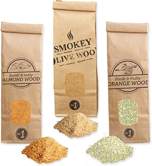 Smokey Olive Wood 300mL serr/ín de Almendro para ahumar