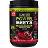 Nature Fuel Power Beets Powder, Delicious Acai Berry Pomegranate, Concentrated Superfood Supplement, Supports Circulation, Na