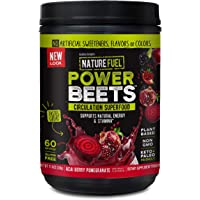 Nature Fuel Power Beets Super Concentrated Circulation Superfood Dietary Supplement – Delicious Acai Berry Pomegranate…