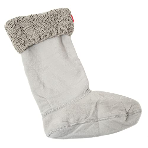 Calcetines Hunter Dual Cable Gris M Gris: Amazon.es: Zapatos y complementos