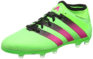 adidas Ace 16.2 Primemesh Fg/Ag, Men Football Competition Shoes, Green ( Solar