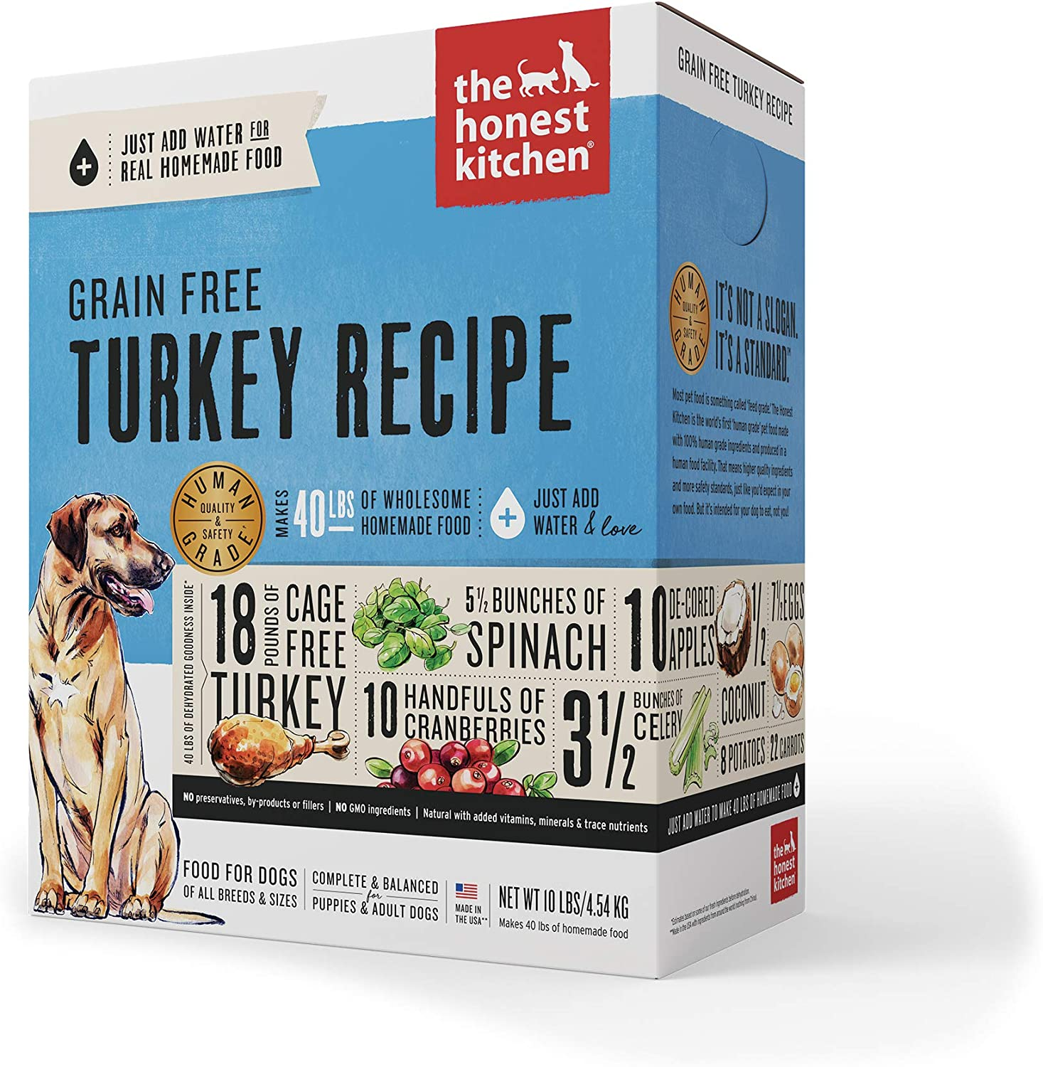 6. The Honest Kitchen Grain-Free Dehydrated Dog Food