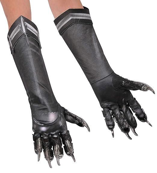 c22d0fe1ddc Rubie s Costume Co Men s Captain America  Civil War Deluxe Panther Gloves