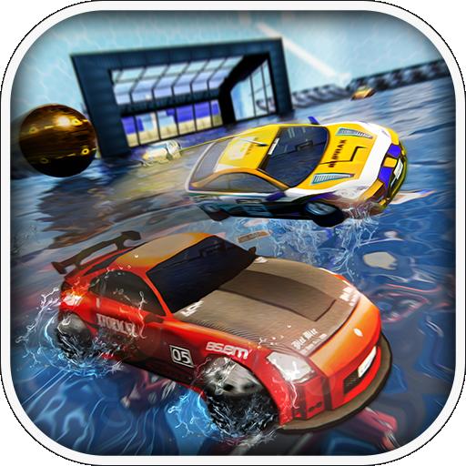 Rocketball Soccer League Water Surfer Simulator 3D -