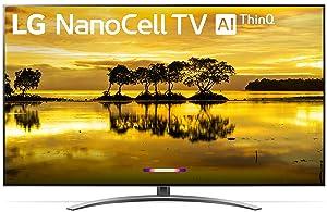 "LG 55SM9000PUA Alexa Built-in Nano 9 Series 55"" 4K Ultra HD Smart LED NanoCell TV (2019)"