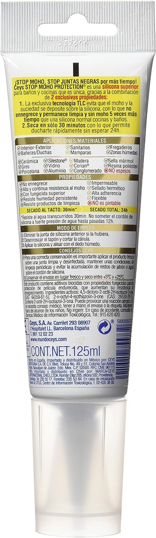 Ceys Secado Xpress Stop Moho - Silicona (125 ml) transparente ...