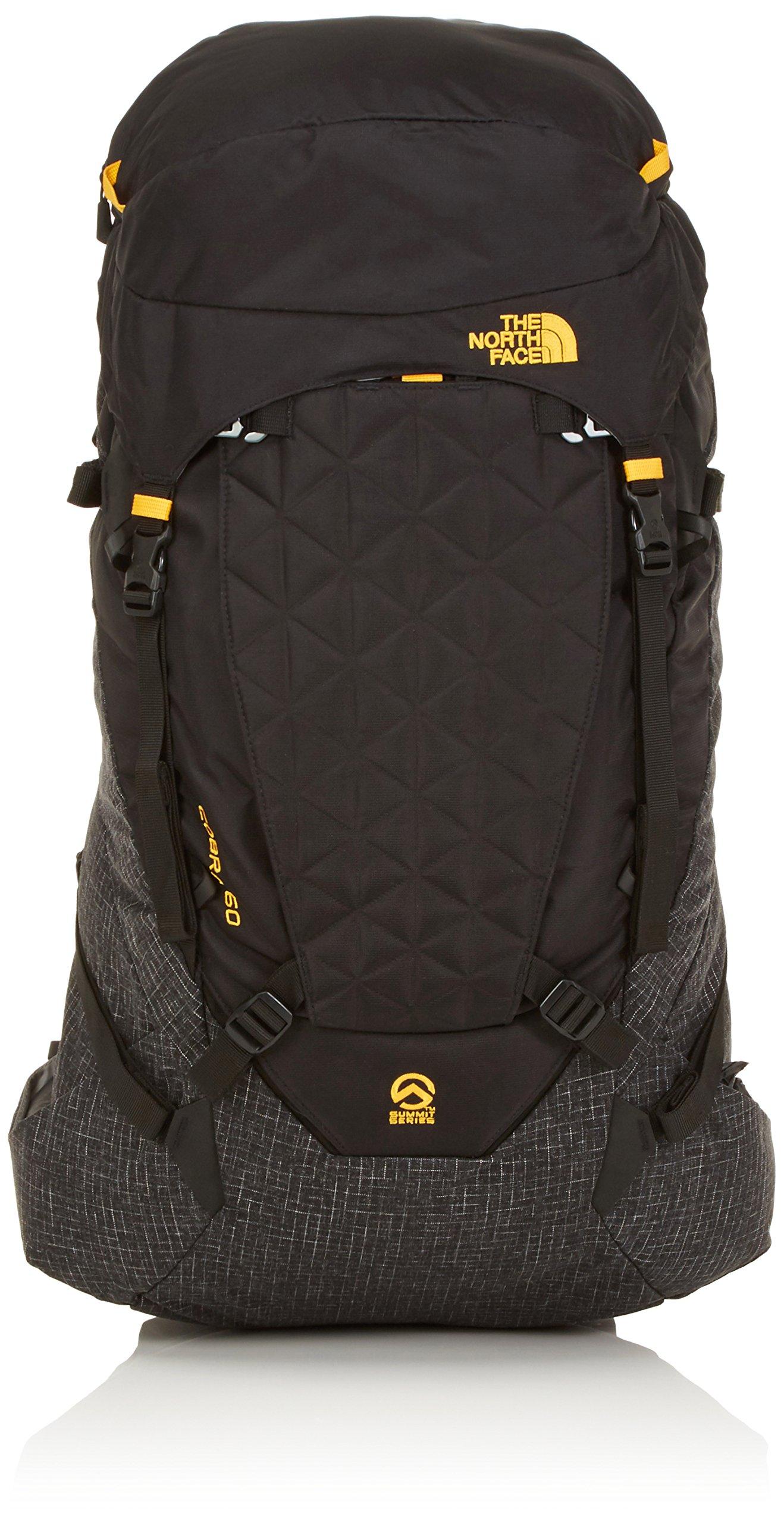 ویکالا · خرید  اصل اورجینال · خرید از آمازون · The North Face Cobra 60 Hiking Backpack TNF Black Summit Gold wekala · ویکالا