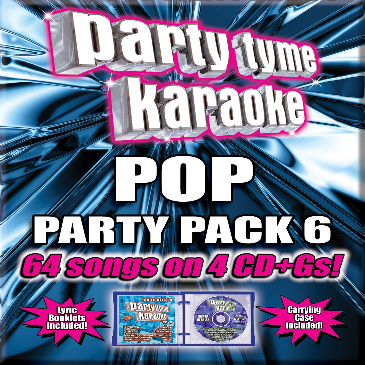Party Tyme Karaoke - Pop Party Pack 6 by Sybersound
