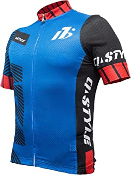 yuwell Hombre Maillot Ciclismo Mangas Cortas, Ropa Ciclismo ...