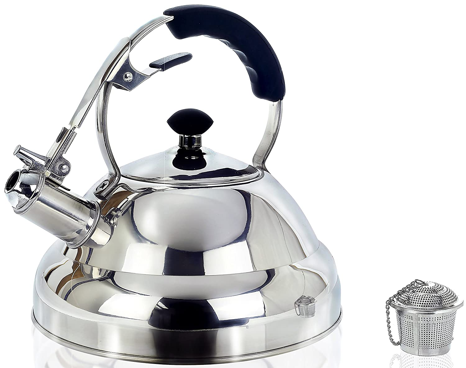 Surgical Stainless Steel Whistling Tea Kettle