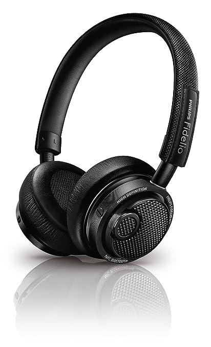 Philips Fidelio M2BTBK/00 - Auriculares Bluetooth inalámbricos (Hi-Res, diseño premium