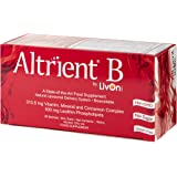Altrient B - Liposomal Vitamin B Complex by LivOn Labs - B1, B2, B6, B12, Niacin, Pantothenic Acid, Folate (Quatrefolic®) Biotin, plus minerals Zinc, Chromium, Selenium and additional Cinnamon and Phospholipids.