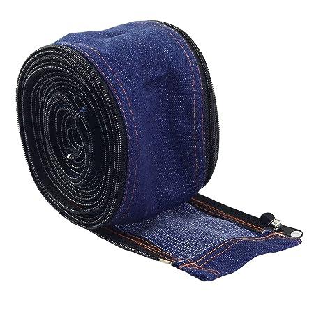 Antorcha TIG Cubierta del cable del vaquero chaqueta de la cremallera de 7,5 metros y 25 pies de longitud: Amazon.es: Bricolaje y herramientas