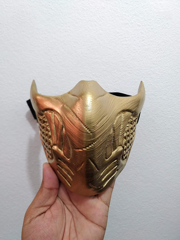 Scorpion Mortal Kombat Old Mask