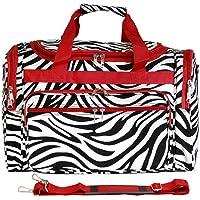 World Traveler, Zebra 22-inch Travel Duffle Bag Bolsa para viajes